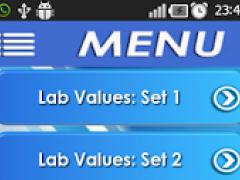 NCLEX Lab Values over 3400 Q 1.0 Screenshot