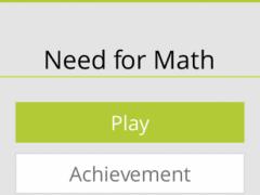 Need for Math 1.0 Screenshot