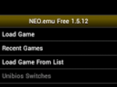 NEO.emu Free 1.5.12 Screenshot