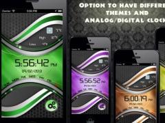 Neon Alarm Clock Lite 1.0 Screenshot