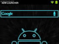 Neon Blue (launcher theme) 1.9 Screenshot