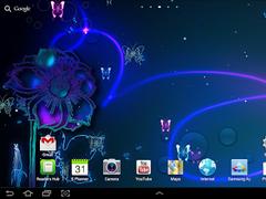 Neon butterfly live wallpaper 1.0.1 Screenshot