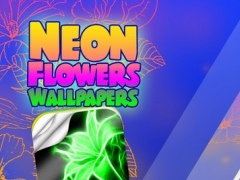 Neon Flower Wallpapers HD Glowing Backgrounds Maker And Custom