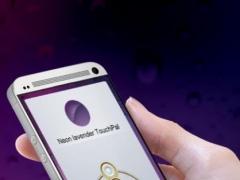 Neon lavender TouchPal Skin 2.0 Screenshot