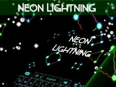 Neon Lightning Keyboard Theme 1.279.13.87 Screenshot