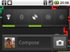 Neon Trails Live Wallpaper 1.3 Screenshot
