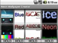 Neon Wallpaper Maker Pro 1.3.2 Screenshot