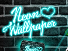 Neon Wallpapers HD – Glowing Background Creator with Colorful Lock Screen Themes 1.0 Screenshot