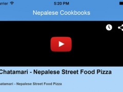 Nepalese Cookbooks - Video Recipes 1.0 Screenshot