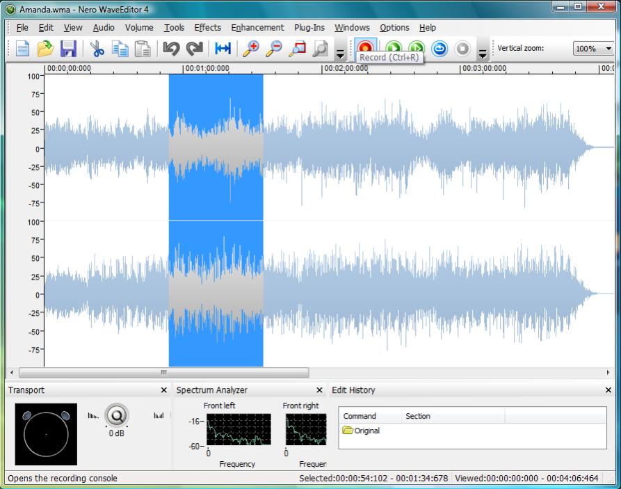 Scarica nero wave editor gratis