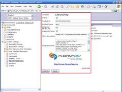 .Net e-Commerce for Chronopay 3.1 Screenshot