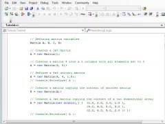 .NET Matrix Library 64-bit Single 5.0 Screenshot