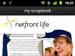 NetFront Life Browser 2.3.1 Screenshot