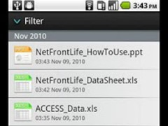 NetFront Life Documents 2.3.7 Screenshot