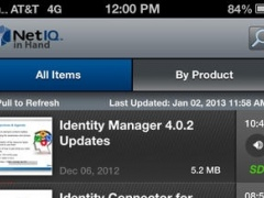NetIQ in Hand 2.4.1 Screenshot