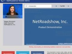 NetRoadshow 1.6.0 Screenshot