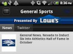 Nevada Wolf Pack Sports 1.30 Screenshot
