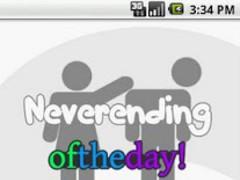 Neverending oftheday! 1.0.5 Screenshot