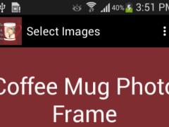 New Coffee Mug Photo Frames 1.0 Screenshot