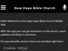 New Hope Bible Church 2.3.0 Screenshot