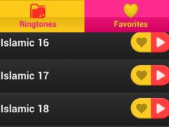 New Islamic tones 1.0 Screenshot