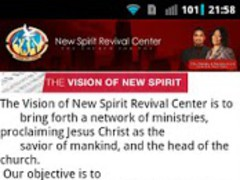 New Spirit Revival Center 1.0 Screenshot