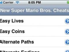 New Super Mario Bros Cheats 1.0 Screenshot