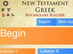 New Testament Greek Vocabulary Builder 1.11 Screenshot