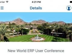 New World ERP Conference 1.1 Screenshot
