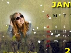 New Year Calendar Photo Frames 1.0 Screenshot