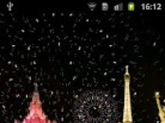 New Year Fireworks HD Theme WP 1.1 Screenshot