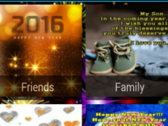 New Year Greeting Wishes 1.1 Screenshot