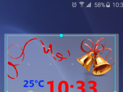 New Year Weather Clock 1.0 Screenshot
