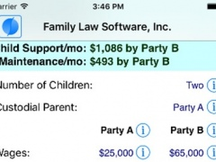 New York Child Support Calculator 6.1.10 Screenshot