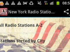 New York Radio Stations USA 1.0 Screenshot