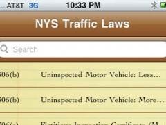New York State Traffic Law 1.0 Screenshot
