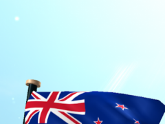 New Zealand Flag 3D Free 1.23 Screenshot