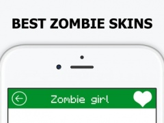 New Zombie Skins for Minecraft PE & PC - Best Skin 1.0 Screenshot