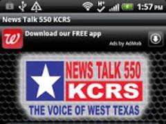 News Talk 550 KCRS 1.0 Screenshot