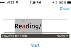News with Spritz - Speed Reader 1.2 Screenshot