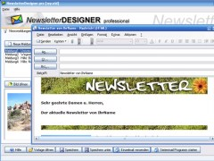 NewsletterDesigner pro 11.3.7 Screenshot