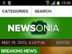 Newsonia 1.4.1 Screenshot