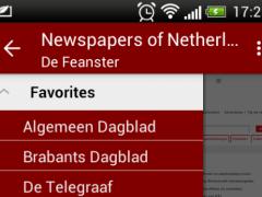 Newspapers of Netherlands 1.7.1 Screenshot