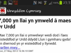 Newyddion Cymraeg 1.0 Screenshot