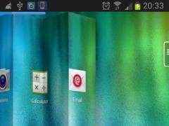 Next 3D Theme for Galaxy A8 1.2 Screenshot
