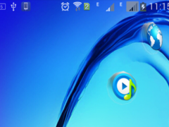 Next 3D Theme for Galaxy On7 1.2 Screenshot