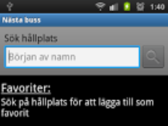 Next bus 1.1 Screenshot