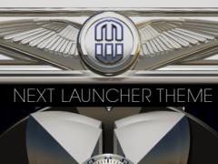 Next Launcher Theme Iron Steel 4.63 Screenshot