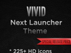 Next Launcher VIVID Theme 1.2 Screenshot