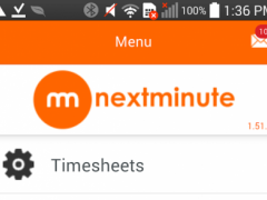 NextMinute - Job Management  Screenshot